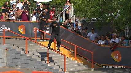 João Lucas Alves tira 8.8, soma 32.3 e é campeão brasileiro de skate street