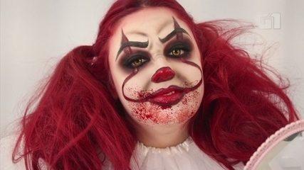 Maquiadora ensina a fazer a assustadora maquiagem do palhaço do filme 'It - A Coisa'