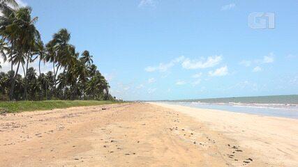 Japaratinga: praias desertas são boa opção no litoral de Alagoas