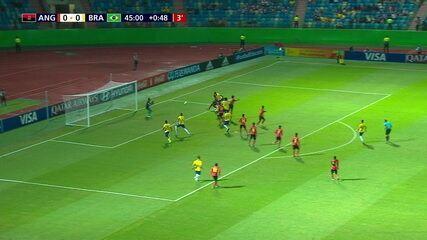 Melhores momentos: Angola 0 x 2 Brasil pelo Mundial sub-17