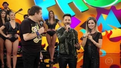 Sandy e Junior entregam surpresas para próximo show no Rio de Janeiro