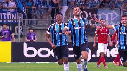 Gol em Gre-Nal foi o momento de maior brilho de Rômulo na passagem pelo Grêmio