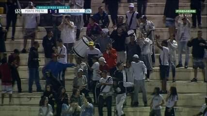 Veja os melhores momentos de Ponte Preta 1 x 1 São Bento pela 33ª rodada da Série B