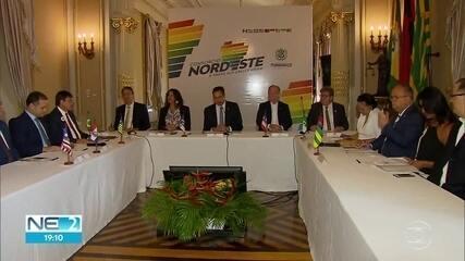 Governadores do Nordeste participam de reunião de consórcio no Recife