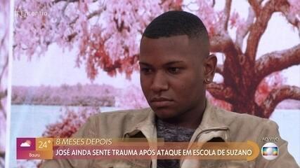 José Vitor ainda sente trauma por ataque à escola em Suzano, São Paulo
