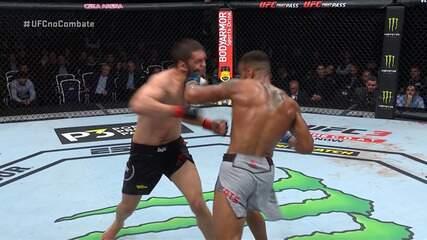 Melhores Momentos de Zelim Imadaev x Danny Roberts no UFC Moscou