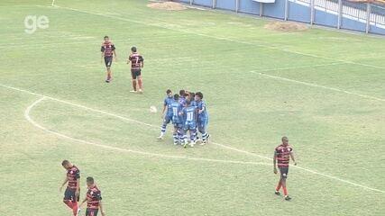 Veja os gols de São Raimundo 5 x 1 Tarumã, pela Série B