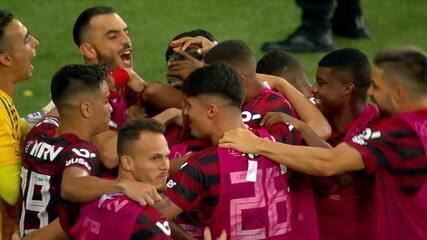 Os gols de Flamengo 3 x 1 Bahia pela 32ª rodada do Campeonato Brasileiro