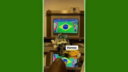 "No Instagram, Talles Magno registra torcida pelo Brasil: ""Deu nós!"""