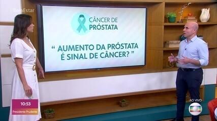Novembro Azul: aumento da próstata não é sinal de câncer