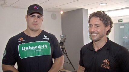 Flávio Canto e David Moura falam sobre novo pólo do Instituto Reação em Cuiabá
