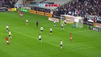 Relembre gol contra de Fagner em Corinthians 1 x 1 Inter - 19/04/2017