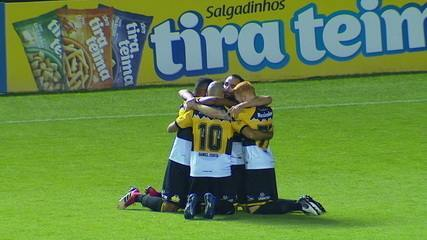 Os gols de Criciúma 2 x 0 Londrina pelo Campeonato Brasileiro da Série B