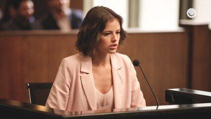 Agatha Moreira e Juliana Paes se emocionam nos bastidores do julgamento de Jô