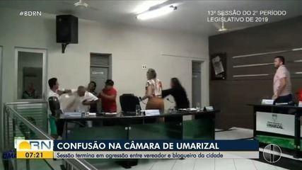 Sessão na Câmara Municipal de Umarizal terminou em briga