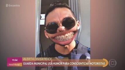 Guarda Municipal comenta reação de quem é multado