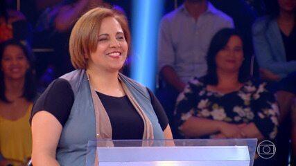 Luziane Rodrigues consegue R$ 20 mil no 'Quem Quer Ser Um Milionário'