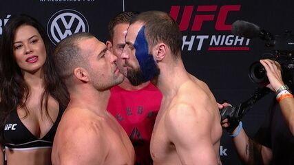 Pesagem do UFC São Paulo: Maurício Shogun x Paul Craig pelo peso meio-pesado