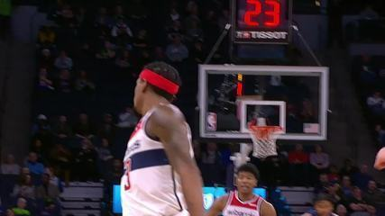 Melhores momentos: Washington Wizards 137 X 116 Minnesota Timberwolves, pela NBA