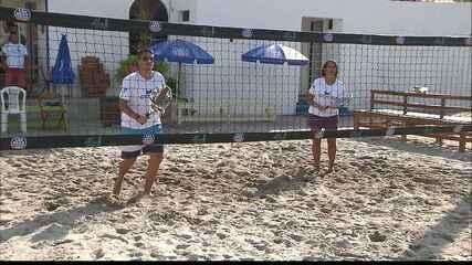 Tênis de areia promete agitar o verão e ganha point na orla de Camboinha