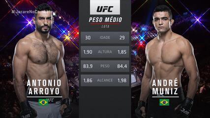 UFC São Paulo - Antônio Arroyo x André Sergipano