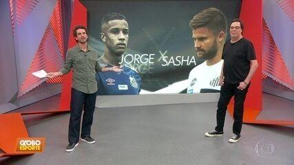 Jorge x Sasha: clima fica quente em campo e nos vestiários do Santos; Casão comenta