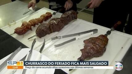 Preço da carne de boi dispara em novembro em São Paulo