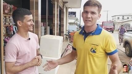 """""""É comum acontecer nos treinos"""", diz goleiro de handebol que fez defesa 'Beija Flor' no AC"""