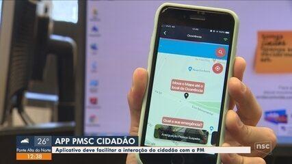 Aplicativo da Polícia Militar terá atendimento do 190 e botão de pânico