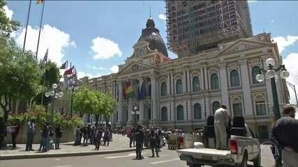 Congresso boliviano aprova projeto de lei pra convocação de novas eleições