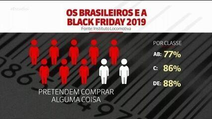 Mercado aposta que 83% dos brasileiros devem aproveitar a Black Friday
