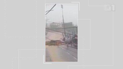 Ladeira do São Caetano racha e codesal aciona sirene para os moradores saírem da região