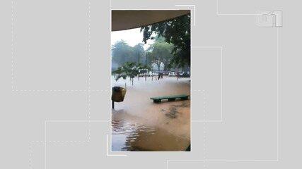 Chuva invade campus de Medicina Veterinária Universidade Federal da Bahia