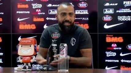 Veja como foi a entrevista de Dyego Coelho, técnico interino do Corinthians, nesta terça-feira