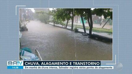 Especial Chuva: Serviços são alterados na capital baiana por causa do temporal