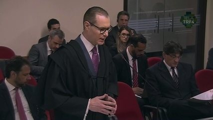 Cristiano Zanin, Advogado de Lula, fala em julgamento no TRF-4 sobre sítio em Atibaia