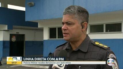 Polícia Militar lança aplicativo que recebe denúncias de crimes