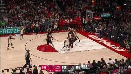 Melhores momentos: Portland Trail Blazers 107 x 103 Chicago Bulls
