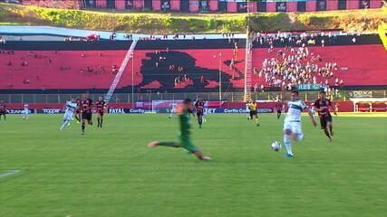 Melhores momentos: Vitória 1 x 2 Coritiba pela 38ª rodada do Brasileirão Série B