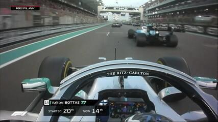 Veja o replay da largada do GP de Abu Dhabi