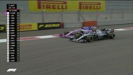Bottas passa Pérez e assume 8ª colocação