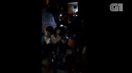 Vídeo mostra viela onde pessoas foram pisoteadas após tumulto em Paraisópolis