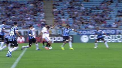 Melhores momentos: Grêmio 3 x 0 São Paulo pela 36ª rodada do Brasileirão