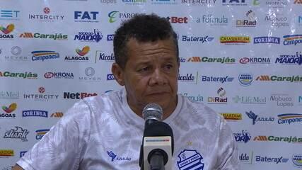 Jacozinho fala sobre a derrota do CSA para o Bahia