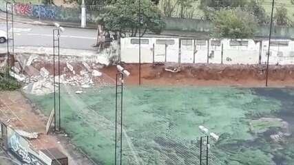 Bragantino começa construção de estacionamento no estádio Nabi Abi Chedid