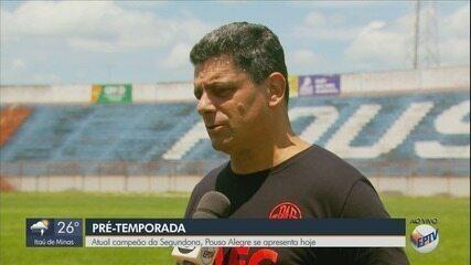 Pouso Alegre FC se apresenta nesta segunda-feira para iniciar pré-temporada
