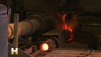 Trump diz que vai restaurar tarifas sobre aço e alumínio do Brasil