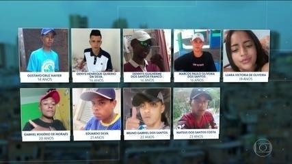 Nenhum dos nove mortos morava na comunidade de Paraisópolis