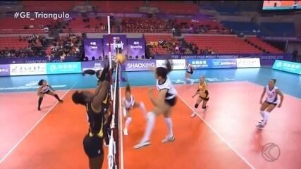 Praia Clube perde para o Istambul na estreia do Mundial de Clubes feminino de vôlei