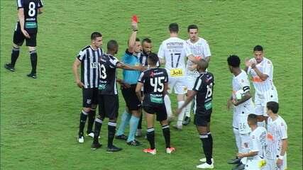 Lima faz falta em Ramiro, leva o segundo amarelo e vai pra rua, aos 25 do 2º